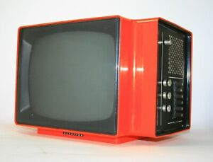 "FROM EARLY 70s RARE VINTAGE TELEVISION EUROPHON APOLLO 3000 12"" SPACE AGE"