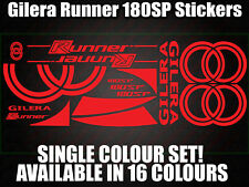 Gilera Runner 180sp Decals/Stickers-ALL COLOURS AVAILABLE- 172 183 GILLY