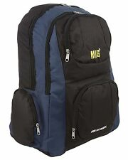 Mens Large Zipped Backpack Rucksack Bag for HIKING SCHOOL WORK SPORTS NAVY 220