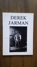 Derek Jarman – Italian film book (1st/1st 1990) essays photographs filmography