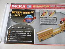 INCRA  Miter 1000SE miter gage
