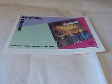 HEAVEN 17 - Petite Publicité de magazine / Advert !! THE LUXURY GAP !!!