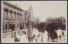 More details for jersey, st. helier. parliament house & royal square. 1908 jersey postmark rppc