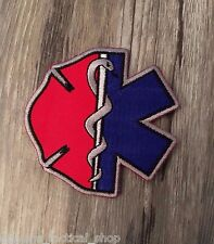 Firefighter EMT Emblem Patch