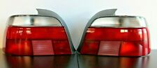 Tail Lights BMW E39 OEM HELLA  Rear Full Set Clear 5 Serries Sedan 1995-1999