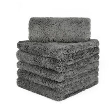 6 Pcs Extremely Thick Plush Microfiber Towel Cleaning Cloth Polishing Detailing