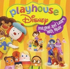 Playhouse Disney Imagine & Learn With Music by Disney (CD, Oct-2005, Disney)