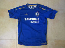 VINTAGE UMBRO CHELSEA SAMSUNG SEWN SOCCER/FOOTBALL YOUTH LARGE JERSEY 2006