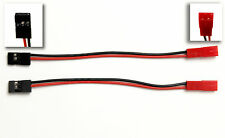 2 Stück Adapterkabel JR/Futaba Servo Stecker auf JST Buchse