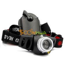 Adjustable CREE TK37 Q5 LED Zoom 2-Mode Headlamp Headlight Head torch Light Lamp