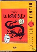 DVD TINTIN - Le LOTUS BLEU langue Française zone 2 dessin animé très bon état
