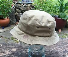Timberland Boonie Bush Bucket Hat Size Large Waxed Canvas