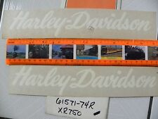 Harley XR750 white script OEM NOS tank decals ONE PAIR # 61571-74R FREE SHIPPING