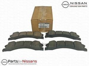 Genuine Nissan Titan XD NV Full Size Front Brake Pads - NEW OEM