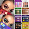 Makeup Cosmetic Shimmer Matte Naked 9 Colors Pigment Eyeshadow Palette Sombras