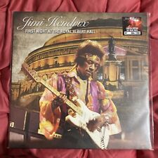 JIMI HENDRIX FIRST NIGHT AT THE ROYAL ALBERT HALL LIMITED NUMBERED BLUE WAX LIVE