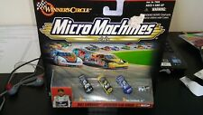 Dale Earnhardt Micro Machines Vintage Checked Flag Series Winners Circle