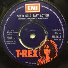 """T-REX Solid Gold Easy Action 1972 UK  7"""" vinyl single EXCELLENT CONDITION"""