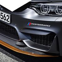 BMW M performance bumper trunk Sticker Car Body Decal for BMW 13456 M12356 X GT