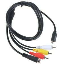 AV A/V TV Cable/Cord for Sony HDR-HC1E DCR-DVD755E DCR-SR100 HDR-HC3E DCR-HC21E