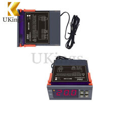 10A Digital Temperature Controller Thermostat 90~250V 110-220V MH1210W w/Sensor