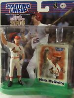 Starting Lineup St. Louis Cardinals Mark McGwire 2000 Commemorative