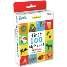 Alphabet Gift High Quality First 100 Matching Card Game for Ages 2 & up