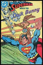 Superman Meets the Quik Bunny 1 One Shot Comic Man of Steel Carmine Infantino