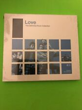 """2CD LOVE """"THE DEFINITIVE ROCK COLLECTION"""". New and sealed"""