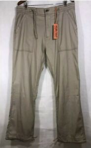 Wear First Beach Pants Then Tell The Difference Men's  Khaki Size 32x28 New
