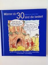 Männer ab 30 sind die besten! Cartoons Humor Büchlein Geschenk