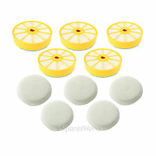 Washable Side Pre & Post Motor Filter Pad Kit for Dyson DC07 Vacuum Cleaner x 5