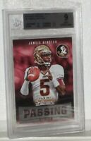 2015 JAMEIS WINSTON CONTENDES DRAFT PICKS PASSING GRADES CARD#2 MINT 9 BGS WOW