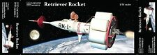 1/72 Glencoe Models RETRIEVER ROCKET MODEL KIT, NEW REISSUE #6002