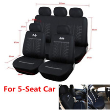 9x Full Set Auto Seat Covers Car Accessories Front&Rear Seat Protection Cushion
