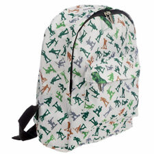 FUNKY SURPLUS   SUPPLY TOY SOLDIER ARMY DESIGN BACKPACK RUCKSACK SCHOOL BAG 7e6ed5f9487a9