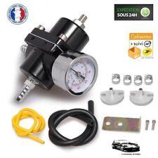 Régulateur de Pression d'Essence Réglable Noir pour Fiat Uno Turbo ie - NEUF