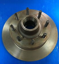 Disc Brake Rotor and Hub Assembly fits 95-98 Ford E-350 Econoline Club Wagon