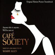 CAFE SOCIETY - OST ORIGINAL SOUNDTRACK - WOODY ALLEN - CD NEU