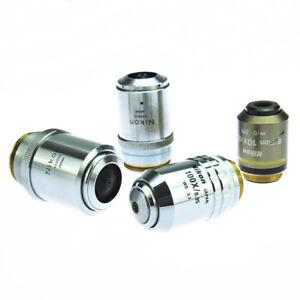Nikon HMC 10XC Objective LWD 10x / 0.25 / WD 5.2 / CS 1.2 (New)