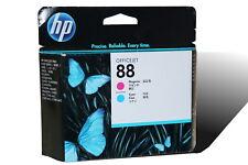 HP 88 Magenta and Cyan Original Printhead C9382A Officejet Pro Genuine New InBox