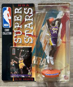 Shaq Oneal Mattel Los Angeles Lakers Figurine Upper Deck Card 1999