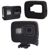 For GoPro Hero 8 Camera Black Windshield Foam Noise Reduction Housing Cover Case
