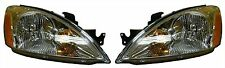 04-07 Mitsubishi Lancer Right & Left Headlights Headlamps Pair Set New
