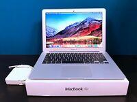 APPLE MACBOOK AIR 13 INCH LAPTOP / TURBO BOOST i7 / 3 YEAR WARRANTY / 128GB SSD