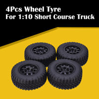 AUSTARHOBBY AX-3005 4Pcs Tires RC Wheel Tyre for 1:10 Short Course Truck