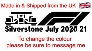 Silverstone F1 Decal Not Paper Sticker