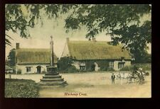 Somerset MUCHENEY CROSS + horse cart 1908 PPC