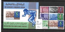 Jordan @ Mnh 1967 Olympics  @ Jor.10