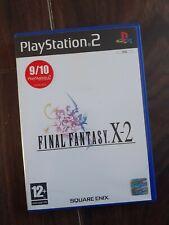 Final Fantasy X-2  PS2, VGC with manual (PlayStation2)